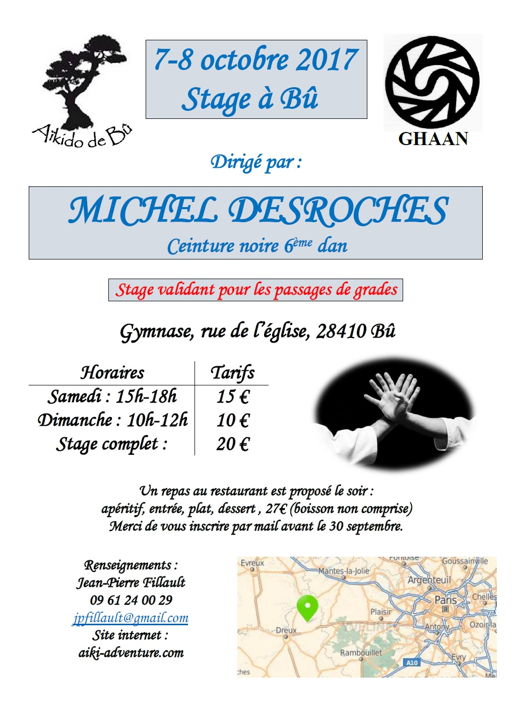 Stage Michel Desroches 2017 à Bû