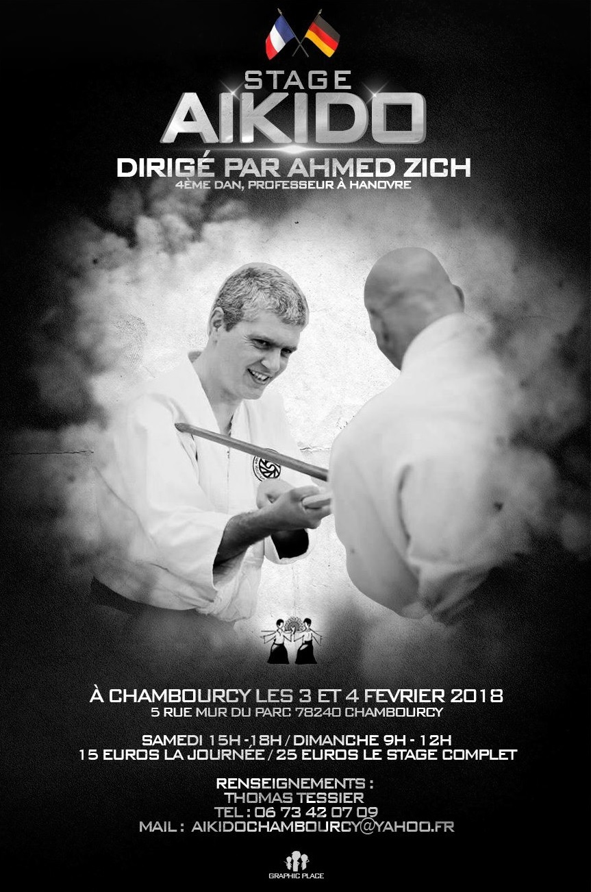 stage Ahmed Zich 2018 à Chambourcy