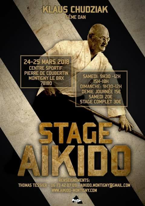 Stage Klaus Chudziak 2018 à Montigny